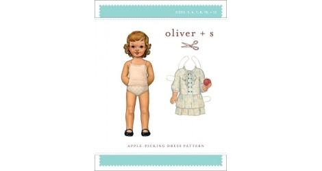 Apple-Picking Dress pattern dans Oliver S par Couture et Cie