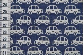 "Tissu Kokka Cars"""""