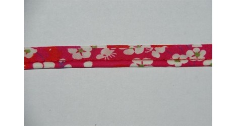 Passepoil Liberty Mitsi rose framboise dans Passepoils Liberty par Couture et Cie