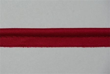 Passepoil rouge framboise