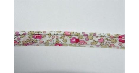 Passepoil Liberty Eloise rose, 90cm dans Passepoils unis par Couture et Cie