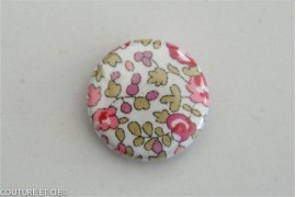 Petit Badge Liberty Eloise rose