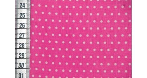 Tissu Petit Pois rose bonbon dans Tissus par Couture et Cie