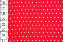 Tissu Petit Pois rouge dans Tissus par Couture et Cie