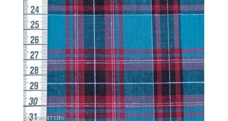 Scottish bleu canard dans Tissus par Couture et Cie