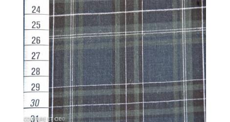 Scottish bleu nuit dans Tissus par Couture et Cie