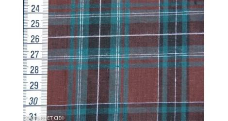 Scottish chataigne dans Tissus par Couture et Cie