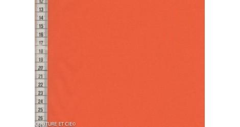 Popeline orange dans Popelines par Couture et Cie