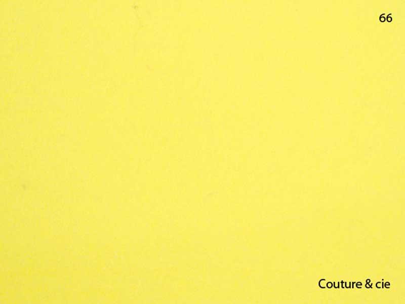 66 - jaune citron