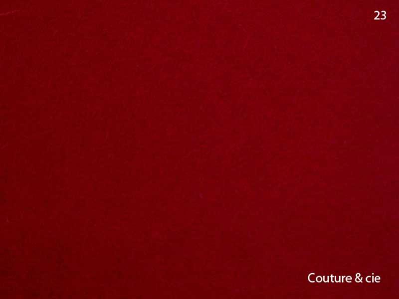 23 - rouge bordeaux